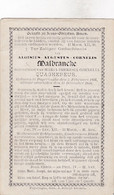 A.MALBRANCKE °1831 POPERINGE  +1898 (M.QUAGHEBEUR) - Andachtsbilder