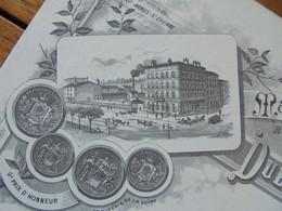 FACTURE - 42 - DEPARTEMENT DE LA LOIRE - SAINT ETIENNE  1903 - MANUFACTURE D'ARMES : DUBEUF FILS AINE - Francia