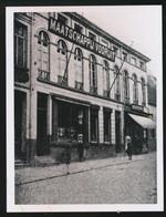 GENT FOTO 13 X 10 CM - SINT KWINTENSBERG - FOTO VAN OUDE CLICHE OF GLASPAAT  - MAATSCHAPPIJ VOORUIT - Gent