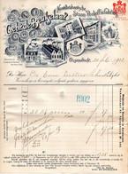 Ossendrecht Woensdrecht Bergen Op Zoom  Factuur De Beukelaer Chicorei  29 Nov 1902 - 1900 – 1949