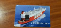 Phonecard Japan 110-011 Ship - Japon