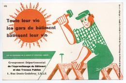 - BUVARD Groupement Départemental De L'Apprentissage Du Bâtiment Et Des Travaux Publics - 1, Rue Denis Godefroy, LILLE - - B