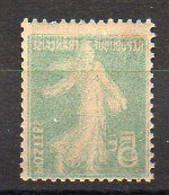 5c Semeuse N° 137l Neuf * - Variété 'Double Recto-Verso' - Variétés: 1900-20 Neufs