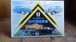 PUB .CITROËN 11 Traction Avant.La Légère ,la Normale (voiture Automobile)S44-20) - Publicidad