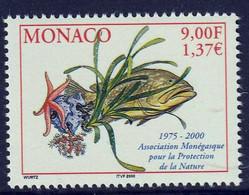 MONACO - Association Monégasque Pour La Protection De La Nature - Y&T N° 2272 - 2000 - Umweltschutz Und Klima