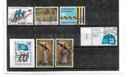 UNO Genf / Lot 002 - 6 Marken - Gebraucht
