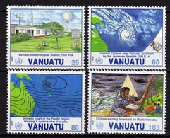 VANUATU N° 887 / 90 XX 10è Anniv. De L'admission De Vanuatu à L' O. M. M. Les 4 Valeurs Sans Charnière, TB - Vanuatu (1980-...)