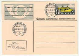 Suisse // Schweiz // Switzerland // Entier Postaux  // 1949 //  Entier Postal BPA  Zurich A471 - Ganzsachen