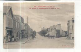 Donville Les Bains, La Route De Coutances Et La Rue De Nez - Sonstige Gemeinden