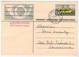 Suisse // Schweiz // Switzerland // Entier Postaux  // 1940 //  Entier Postal  BPA Lausanne XXI Comptoir (A297) - Interi Postali