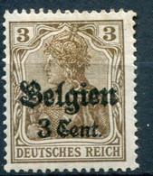 Occupazioni - Belgio - Mi. 11 * - Besetzungen 1914-18