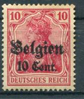 Occupazioni - Belgio - Mi. 14 * - Besetzungen 1914-18