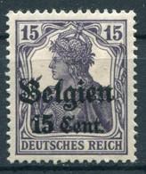 Occupazioni - Belgio - Mi. 16 * - Besetzungen 1914-18