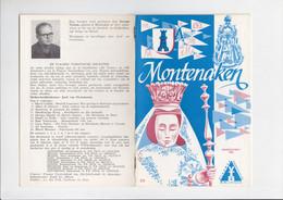 Montenaken - Maandschrift 1963 - VTB - Servaas Tyrions - Geographie & Geschichte