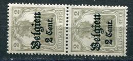 Occupazioni - Belgio - Mi. 10 ** - Besetzungen 1914-18