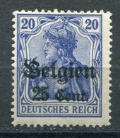 Occupazioni - Belgio - Mi. 18 * - Besetzungen 1914-18