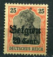 Occupazioni - Belgio - Mi. 17 * - Besetzungen 1914-18