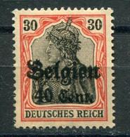 Occupazioni - Belgio - Mi. 19 * - Besetzungen 1914-18