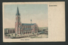 Poland Sosnowiec Nowy Kosciol 1907 VN896 - Polonia