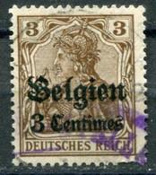 Occupazioni - Belgio - Mi. 11 (o) - Besetzungen 1914-18