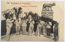 233 Fanteria Da 62 A 79 - Reggimento 79 - Istruzione Di Trombettieri - Regiments