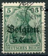 Occupazioni - Belgio - Mi. 12 (o) - Besetzungen 1914-18