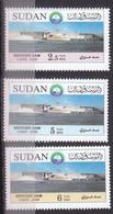 Stamps SUDAN 2009 SC-623 625 MEROWE DAM MNH SET CV$15 # 45 - Soudan (1954-...)