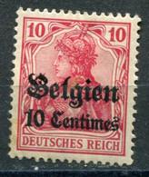 Occupazioni - Belgio - Mi. 3 * - Besetzungen 1914-18