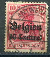 Occupazioni - Belgio - Mi. 3 (o) - Besetzungen 1914-18