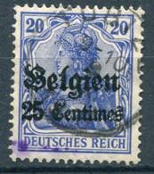 Occupazioni - Belgio - Mi. 4 (o) - Besetzungen 1914-18