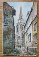 Carte Postale Bretagne - Vitré - L'Eglise Notre-Dame - Vitre