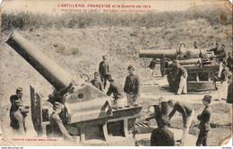 GUERRE 1914- 1918  WW1  Artillerie De Cote- Batterie Des Mortiers De 270 ... - Weltkrieg 1914-18