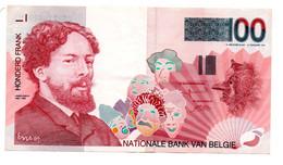 Belgique / 100 Francs  / TTB+ - 100 Francs