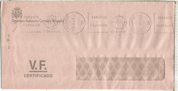 MADRID CC FRANQUICIA SERVICIO FILATELICO  VALORES - Franquicia Postal