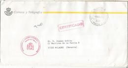 MADRID CC FRANQUICIA SERVICIO FILATELICO CERTIFICADO - Franquicia Postal