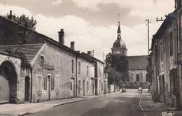 DOULAINCOURT (Haute-Marne): Rue Pougny Et L'Eglise - Doulaincourt