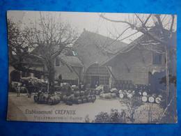 Carte Postale : VILLEFRANCHE SUR SAONE - Etablissement CREPAUX - Villefranche-sur-Saone