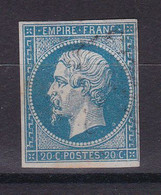 D226 / LOT NAPOLEON N° 14  OBL / VARIETE ANNEAU DE LUNE - 1853-1860 Napoléon III.