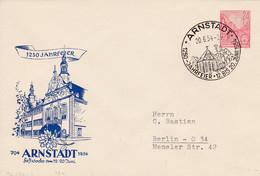 DDR, PU  12,  SSt., 1250 Jahrfeier Arnstadt - Privatumschläge - Gebraucht