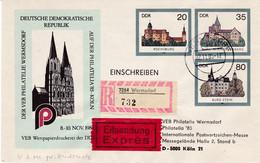 DDR,  U 2 Mit Privatem Zudruck , Oo - Sobres - Usados