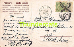 CPA GENLY 1909 MONS STATION - Postales [1909-34]