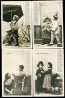 LOT DE 9 CARTES POSTALES ANCIENNES - CALENDRIER 1903 - 5 - 99 Postales