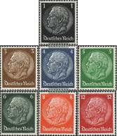 German Empire 512-517,519 Unmounted Mint / Never Hinged 1933 Hindenburg Medallion / WZ 4 - Germania