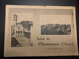 Chiesanuova (Aosta) 1943 - Panoramic Views
