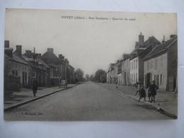 DOYET (03) :Rue GAMBETTA - Quartier Du Canal - Avant  1930 - Sin Clasificación