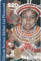 KIRIBATI : S03 $20 Traditional People (little Scratches) USED - Kiribati