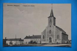 Beauwelz 1909 Près De Momignies : L'église Et Le Centre - Momignies