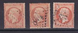 D227 / LOT NAPOLEON N° 23 OBL COTE 45€ - 1862 Napoléon III