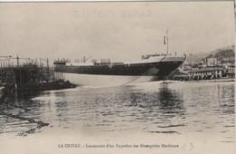 Paquebot -  Lancement Des Messageries Maritimes LA CIOTAT - Dampfer