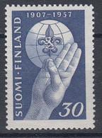+M911. Finland 1957. Scouting. Michel 473. MNH(**) - Neufs